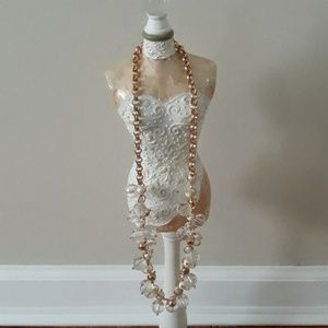 Kate Spade Gold Bubble Necklace